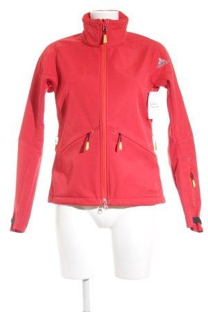 Vaude Übergangsjacke rot sportlicher Stil