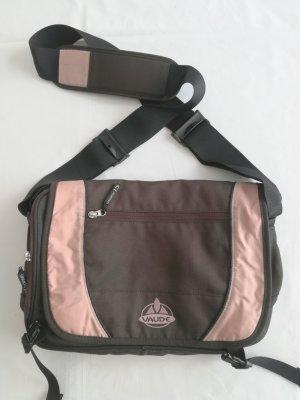 Vaude Gekruiste tas bruin-stoffig roze Gerecycleerde materiaal