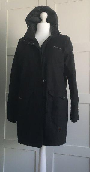Vaude Manteau à capuche noir