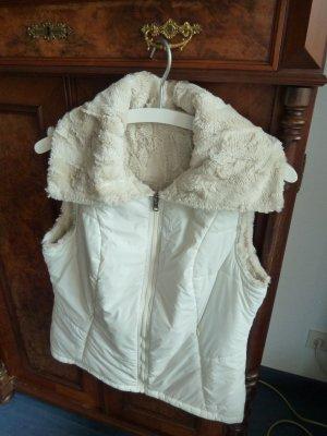 Vaude Reversible Vest natural white-cream polyester