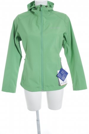 Vaude Windbreaker neon green athletic style