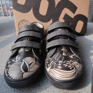 DOGO Velcro Sneakers black-cream