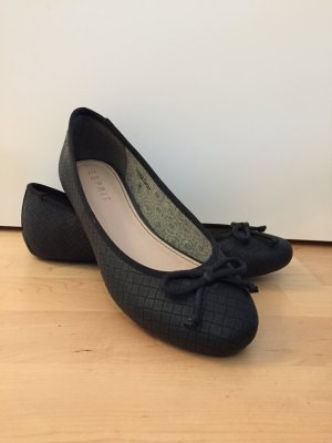 Esprit Bailarinas plegables negro Sintético