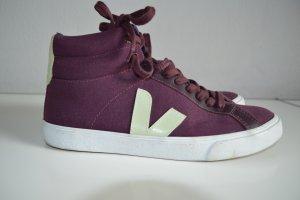 Veja Sneaker Gr. 40 dunkelrot