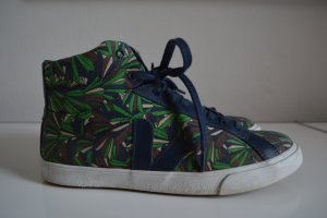 Veja Sneaker Gr. 40 grün/blau im Jungle Look