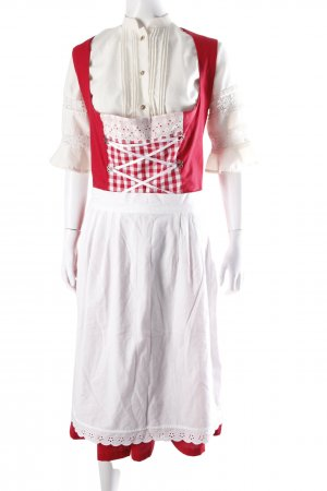 Vele Landmaedels Dirndl with apron red and white