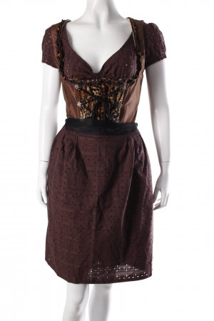 Vele Landmaedels Dirndl-Set brown