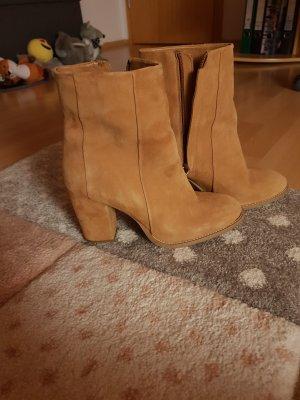 Velour Leder Schuhe