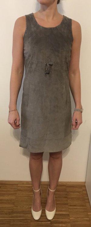 Jake*s Vestido de cuero gris