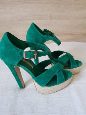 Buffalo High Heel Sandal green