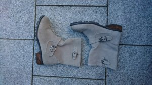 Velours Leder Boots H&M