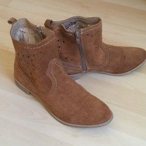 Tamaris Chelsea Boots cognac-coloured-light brown