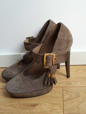 Veloursleder Schuhe mit festem Halt