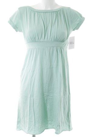 Velvet Robe Babydoll vert menthe style simple
