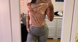 Blouse Collar pink
