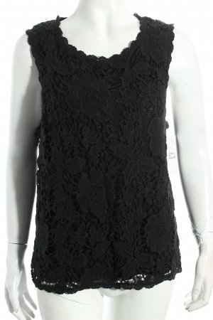 Velvet by Graham & Spencer Crochet Top black romantic style