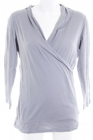 Velvet by Graham & Spencer Sweatshirt grau minimalistischer Stil