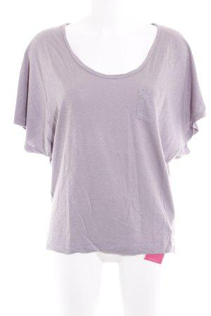 Velvet by Graham & Spencer T-Shirt blasslila meliert Casual-Look