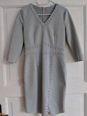velvet dress with studs