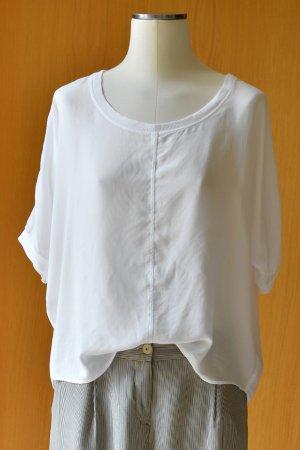 VELVET Graham & Spencer 36 Shirt Blusenshirt weiß oversize Boyfriend + Etikett