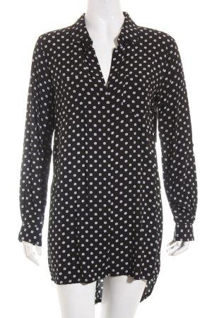 Velvet Heart Tunikabluse schwarz-weiß Punktemuster Casual-Look