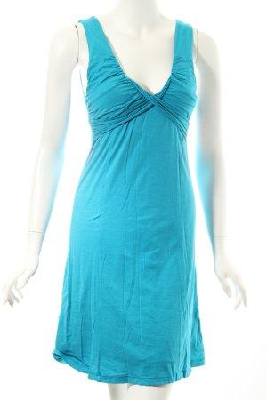 Velvet Kleid türkis extravaganter Stil