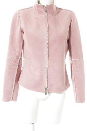 Velvet Kurzjacke rosé Street-Fashion-Look