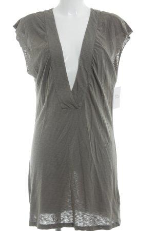 Velvet Longshirt grüngrau Casual-Look