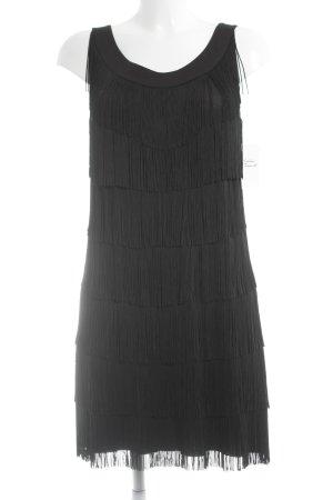 Velvet Minikleid schwarz Elegant