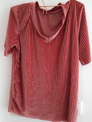 velvet pink shirt gr. M