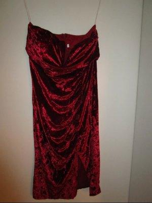 Velvet Red Carpet Kleid L Strech
