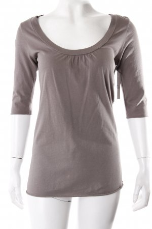 Velvet Shirt Graubraun