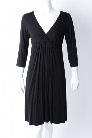 Velvet Shirt Dress black