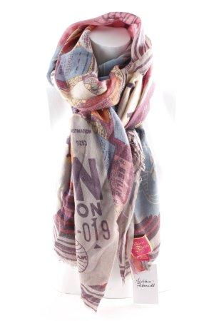Velvet St. Fields Scialle motivo astratto stile casual