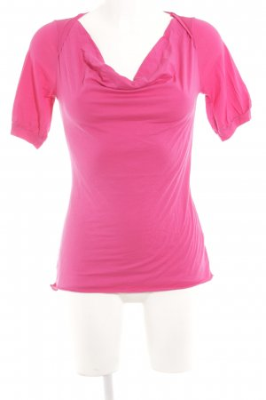 Velvet T-Shirt magenta Casual-Look