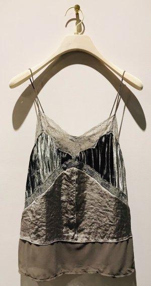 Velvet / Top / Silk