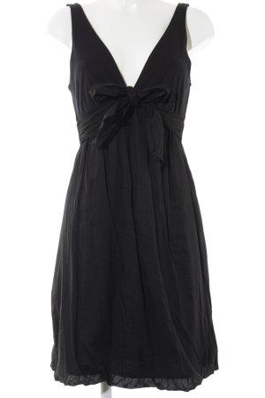 Velvet Trägerkleid schwarz Casual-Look