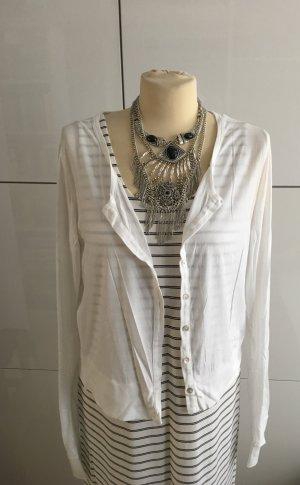 Velvet tshirt Jacke Gr. XL in weiß