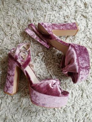 Public Desire Platform High-Heeled Sandal multicolored