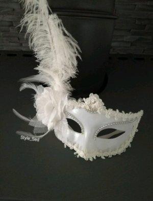 Venezianische Maske Augenmaske Deko Maskenball Fasching