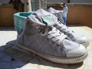 -8- Venice Sneaker alta multicolore Cotone