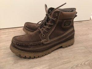 Venice Leder Boots Winterstiefel Stiefel Boots Braun Gr.40 top