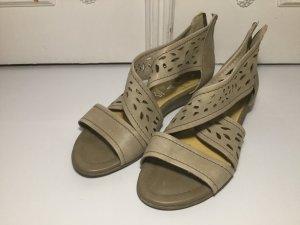 Venturini Sandalo con cinturino multicolore Pelle
