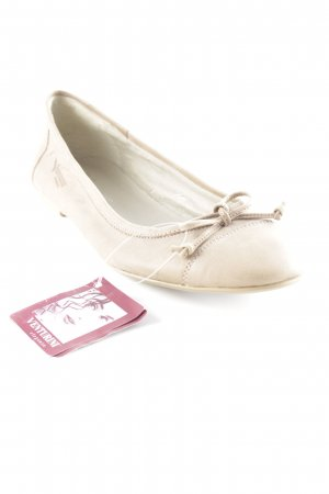 Venturini Slingback Ballerinas beige Business-Look