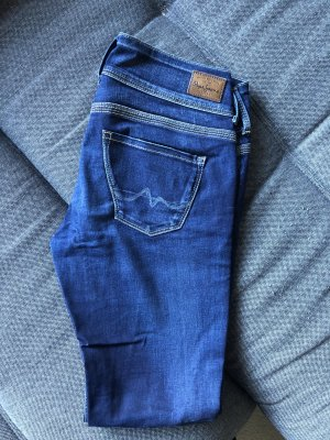 Pepe Jeans Low Rise jeans donkerblauw-blauw