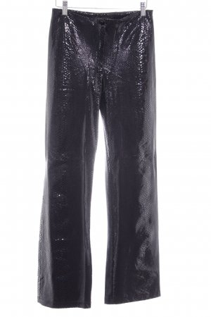 vera finzzi PARIS High Waist Trousers black spot pattern '80s style