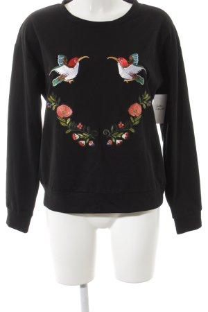 Vera Lucci Sweatshirt Animalmuster Casual-Look