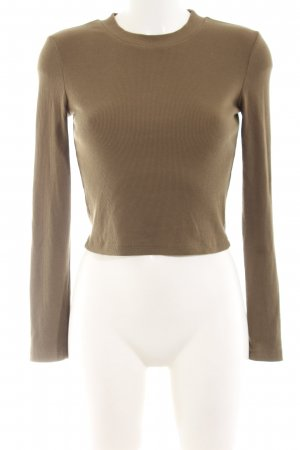 Vera & Lucy Cropped Shirt grüngrau Casual-Look