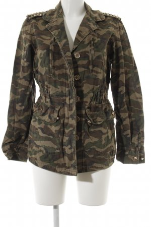 Vera & Lucy Jeansjacke mehrfarbig Military-Look