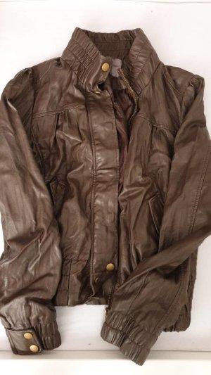 Oversized Jacket dark green